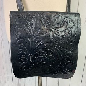 Patricia Nash Granada Tooled leather crossbody